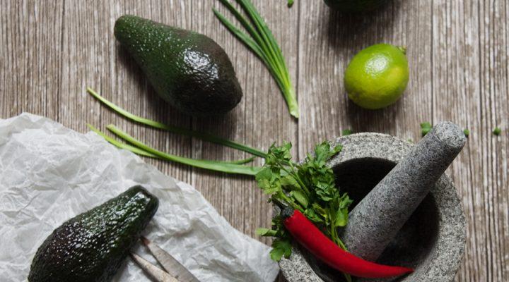 Rześkie guacamole