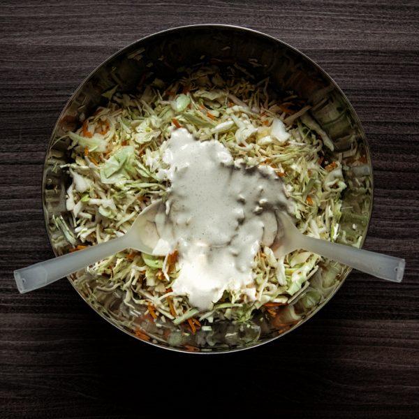 Coleslaw – surówka z kapusty