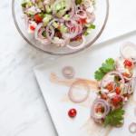 Ceviche z dorsza — bałtycka ryba i cytrusy