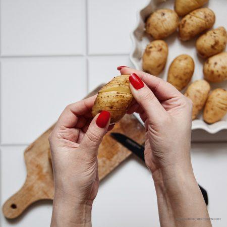 Nacinane ziemniaki Hasselback – i cóż że ze Szwecji?