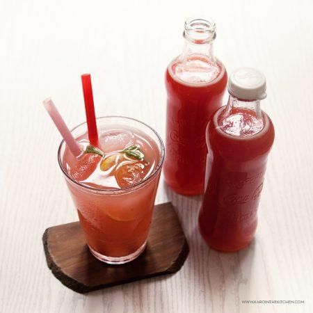 Syrop z rabarbaru – baza do napoi i drinków