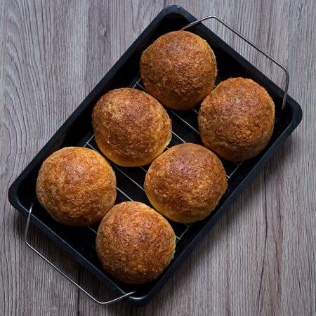 Bułeczki śniadaniowe – podwójnie serowe