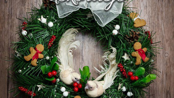 Świąteczne krajobrazy, czyli jak udekorować dom na Boże Narodzenie przy dwóch kotach (albo dzieciach)