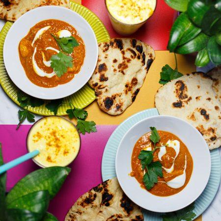 Butter chicken – indyjski kurczak w lekkim pomidorowym curry