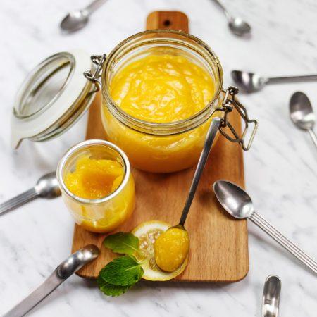 Lemon curd – idealny krem cytrynowy