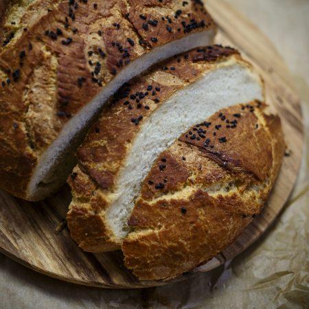 Chleb pszenny parzony, trzy dni świeży, z super chrupiącą skórką