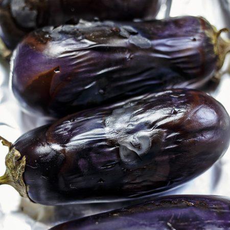 Baba ghanoush – pasta z pieczonych bakłażanów