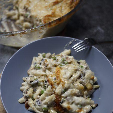 Makaron z serem – zapiekanka makaronowa