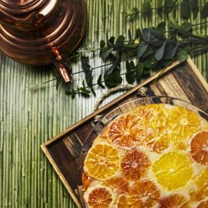 Jogurtowe ciasto pomarańczowe