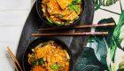 Kaczka stir fry z kapustą pak choi – obiad w 15 minut