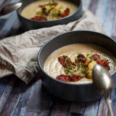 Zupa krem z pieczonego kalafiora