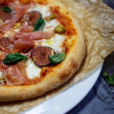 Pizza neapolitańska na suszonych drożdżach