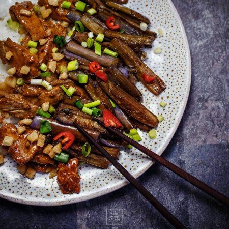Bakłażany smażone po chińsku