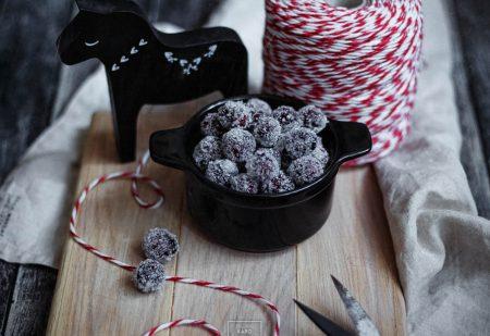 Żurawina szroniona w cukrze – nie tylko do dekoracji