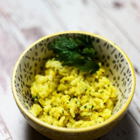 Ryż cytrynowy – na dodatek nie tylko do ryby