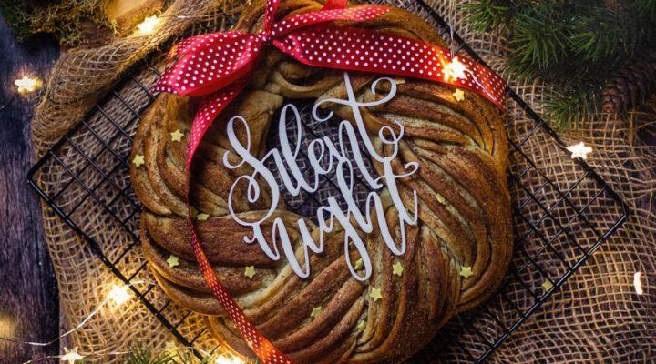 Szafranowe ciasto Lussekatter – wieniec na dzień świętej Łucji