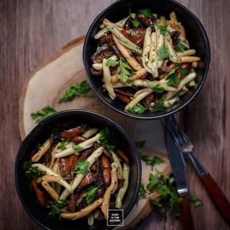 Makaron z rydzami – obiad w 15 minut