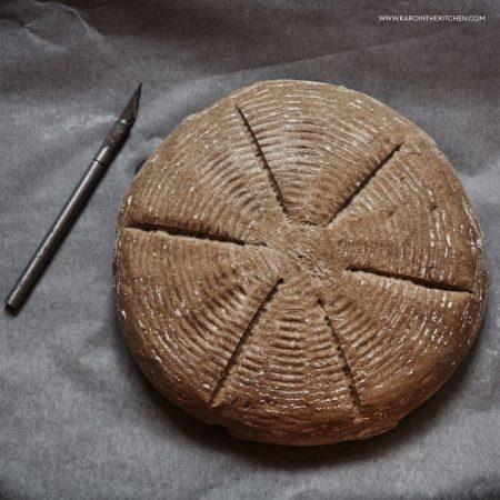 Rustykalny chleb z gotowej mieszanki