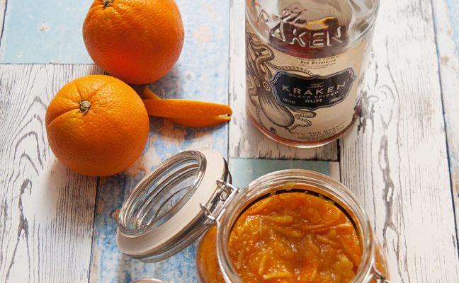 Marmolada z pomarańczy z imbirem