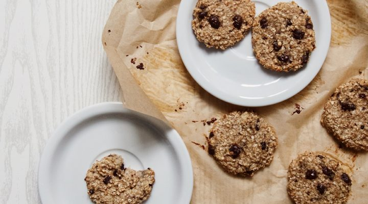 30-minutowe ciastka owsiane – z 2 składników!