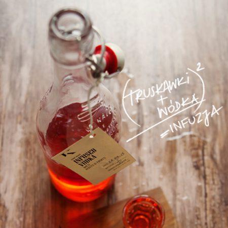 Wódka o smaku świeżych truskawek – infuzja w kuchni