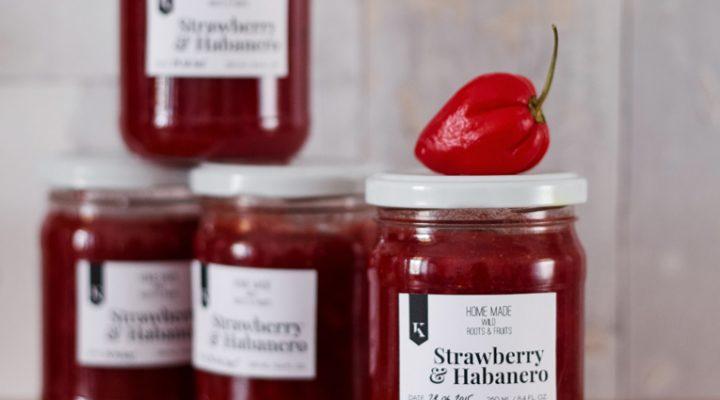 Strawberry & Habanero – słodko pikantny dżem z truskawek i papryki habanero