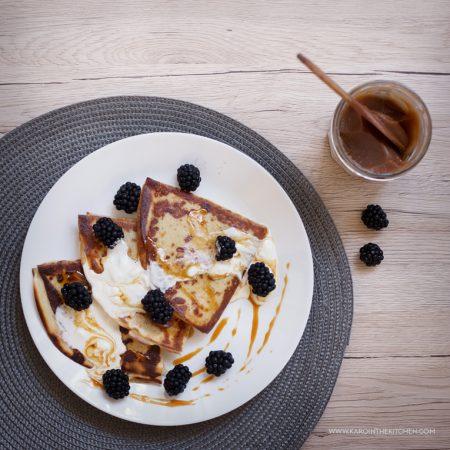 Naleśniki z ciasta parzonego – na maślance