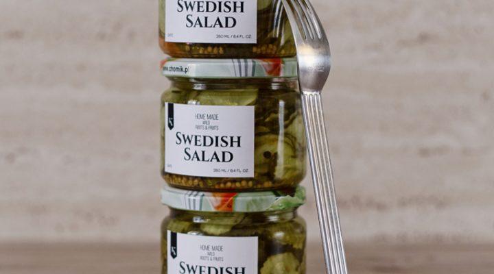 Sałatka szwedzka z ogórków – do hot-dogów, hamburgerów, do obiadu