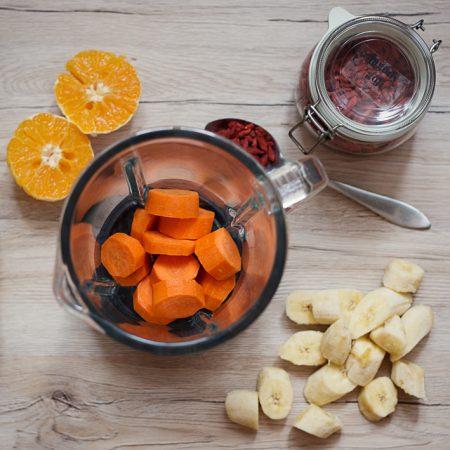 Marchewkowe smoothie – zastrzyk witaminowy dla zdrowej skóry
