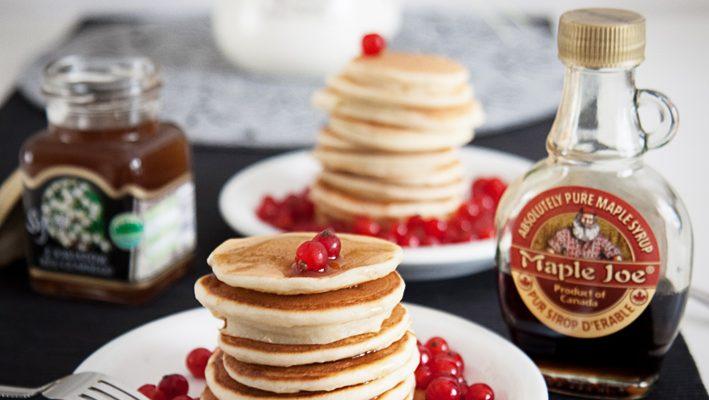 Puszyste i delikatne pancakes z mleka i jogurtu