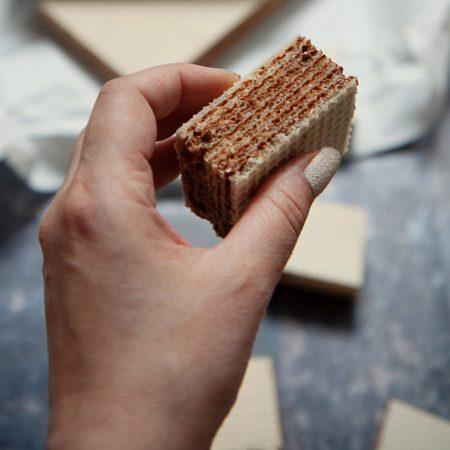 Piszinger, andrut, kajmak – wafle w 20 minut