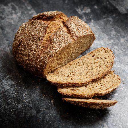 Chleb pszenno-żytni na piwie Guinness