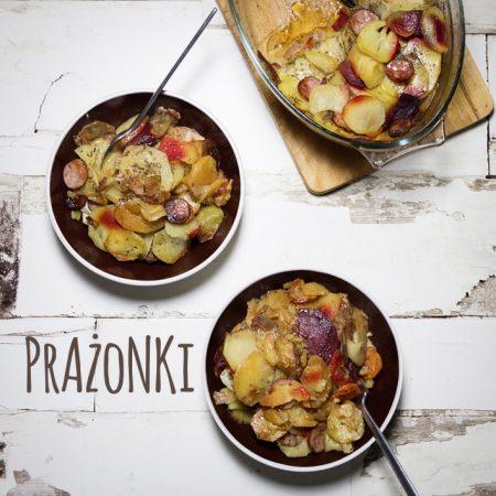 Prażonki – bardzo polskie ziemniaki duszone w piekarniku