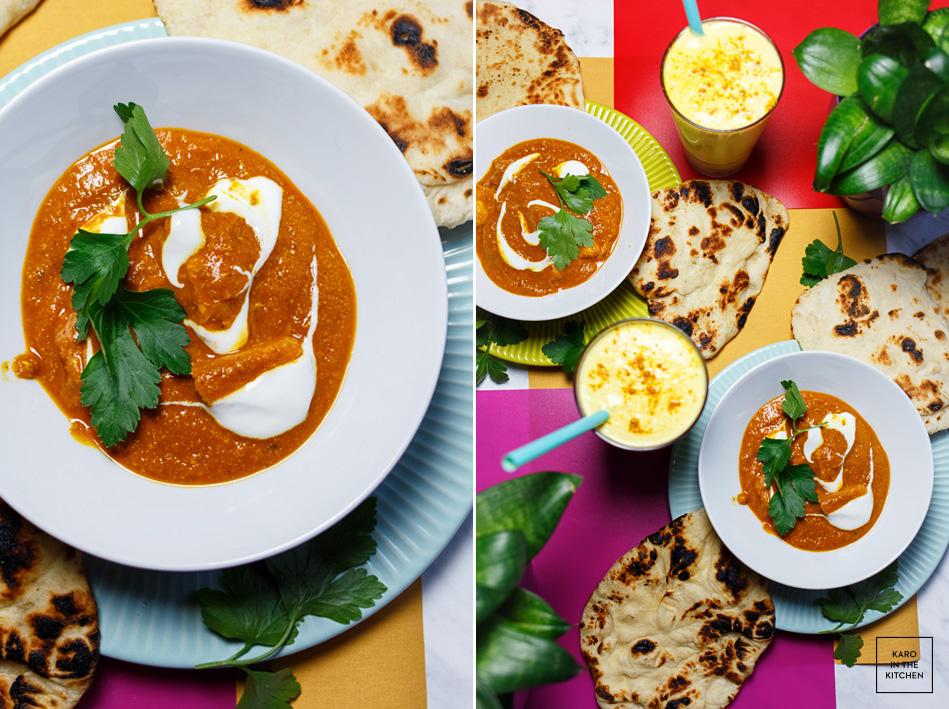 Butter Chicken Indyjski Kurczak W Lekkim Pomidorowym Curry Karo