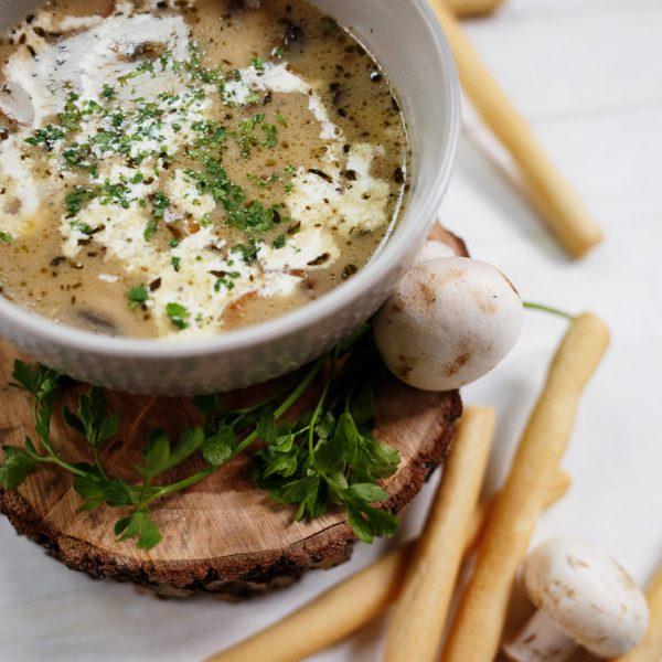 Zupa grzybowa aksamitna