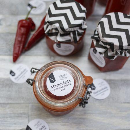 Marmolada z czerwonej papryki
