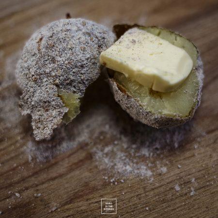 Ziemniaki w popiele, z piekarnika – a smakują jak te z ogniska!