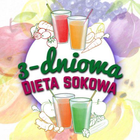 Trzydniowa dieta sokowa – detox nie tylko na wiosnę