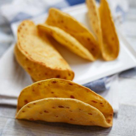 Tacos – pszenno- kukurydziane muszle do nadziewania