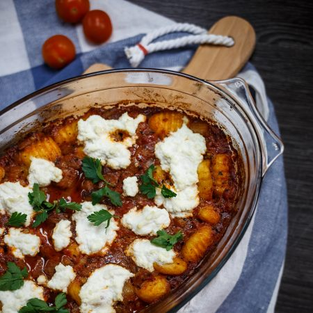 Gnocchi alla norma – gnocchi w pomidorach, z bakłażanem
