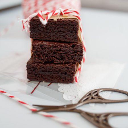 Brownie bez miksera – wilgotne i ciemne