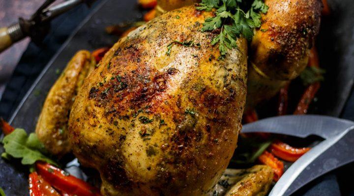 Pieczony kurczak w maśle – Poulet Rôti au Beurre