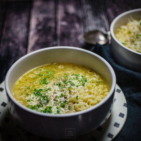 Rosół na kaca – cały obiad z jednego garnka w 10 minut!