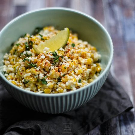 Sałatka z kukurydzy z puszki po meksykańsku – elote