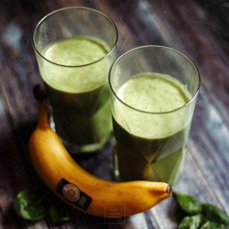 Hulk – zielone aksamitne smoothie ze szpinaku