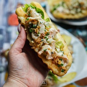Bułka z krewetkami, czyli poor man's lobster roll