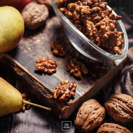 Karmelizowane orzechy w 5 minut – kruche i pachnące