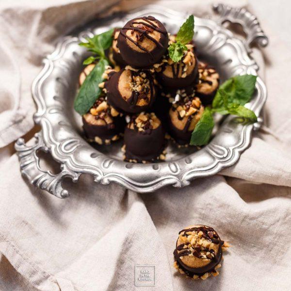 Trufle orzechowe w czekoladzie – całkiem zdrowe!