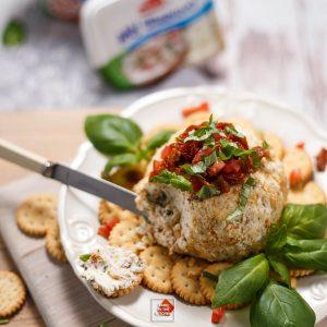 Kula serowa – bruschetta, z pomidorami i bazylią