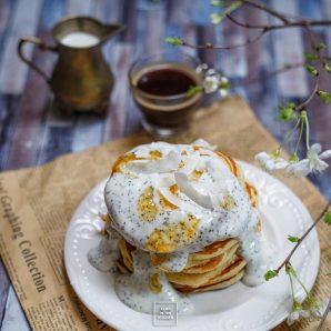 Bardzo puszyste pancakes na maślance
